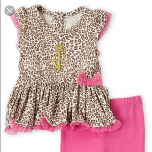 Juicy Couture Pink & Leopard Outfit